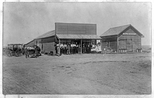 Country store and creamery, Sheridan County, Kansas - Page