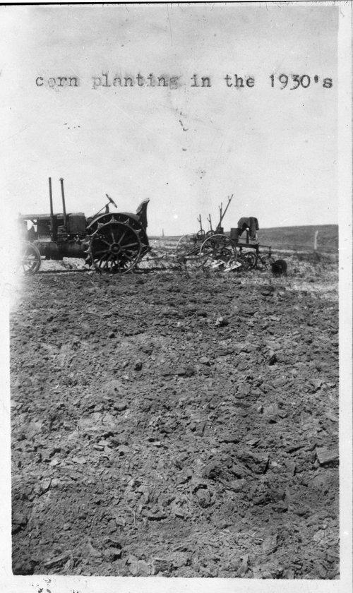 Planting corn in Sheridan County, Kansas - Page