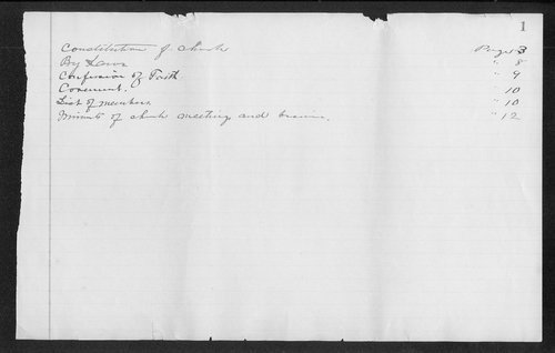 Pleasant View Congregational Church records, 1905-1913 - Page