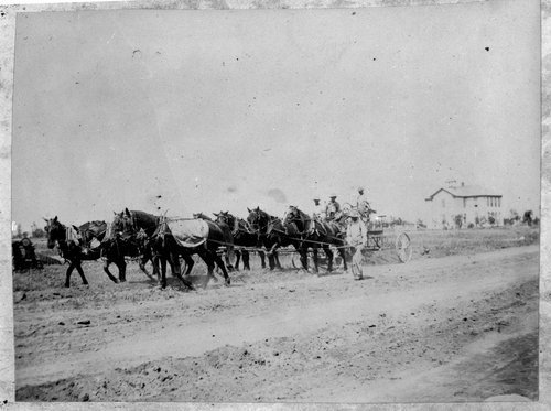 Road construction in Sheridan County, Kansas - Page