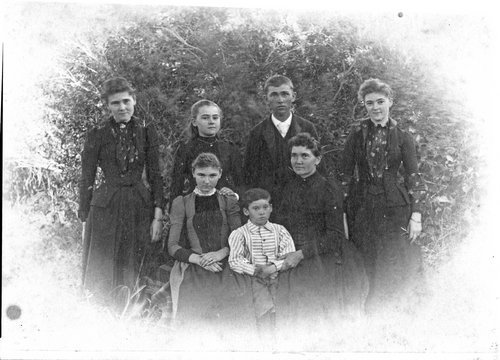 Russell family group, Sheridan County, Kansas - Page