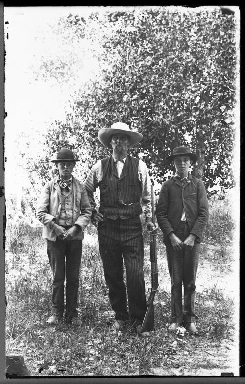 Sheridan County, Kansas, family group. - Page