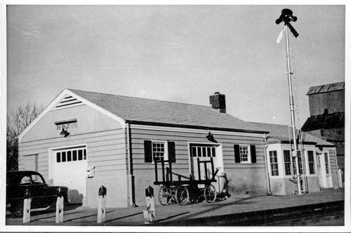 Union Pacific Railroad Company depot, Hoxie, Kansas - Page