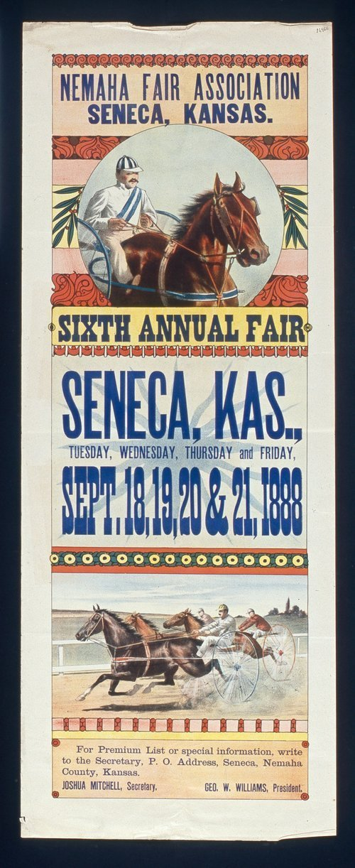 Sixth annual fair Seneca, Kansas - Page