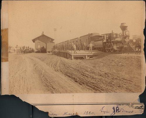 Atchison, Topeka, & Santa Fe Railway Company depot, Wichita, Kansas - Page