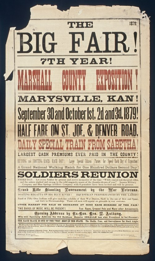 The big fair! Seventh year! Marshall County exposition - Page