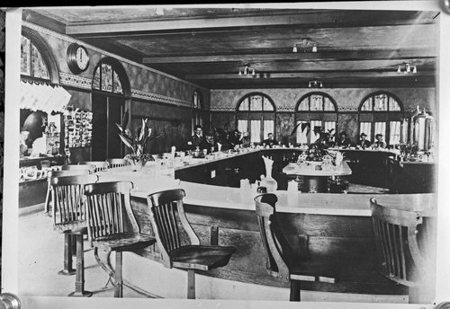 Atchison, Topeka & Santa Fe Railway Company's Fred Harvey lunch room, Vaughn, New Mexico - Page