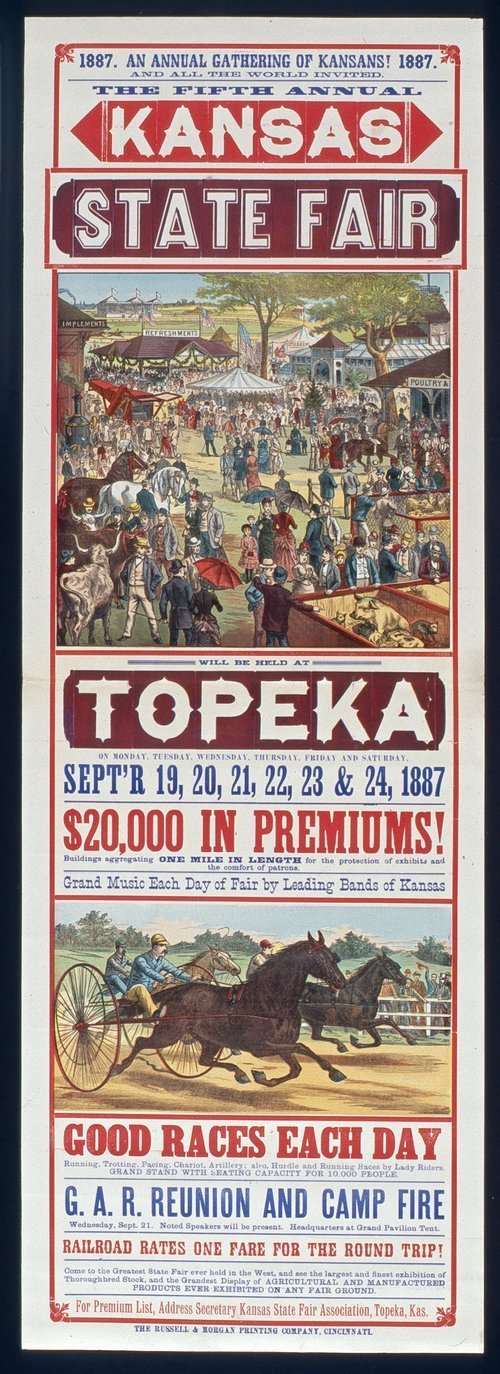 Fifth annual Kansas state fair, Topeka, Kansas - Page