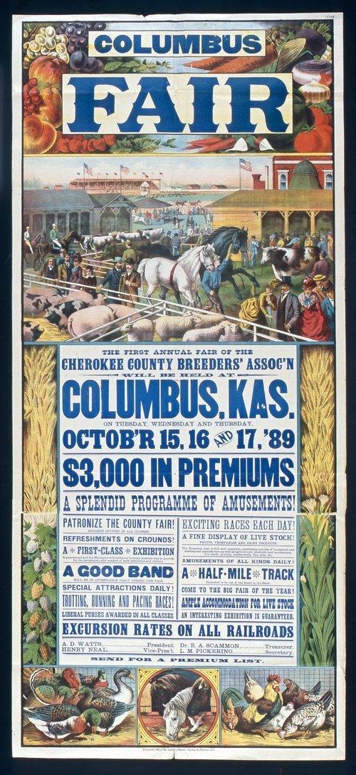 Columbus fair, Columbus, Kansas - Page