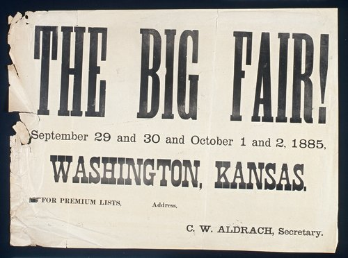 Washington, Kansas Fair - Page