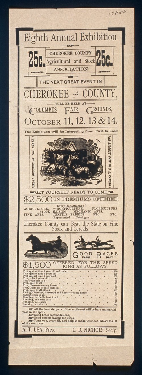 Cherokee County exhibition - Page