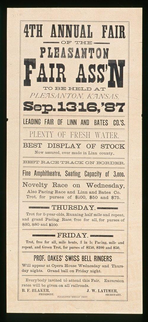 Pleasanton, Kansas fair - Page