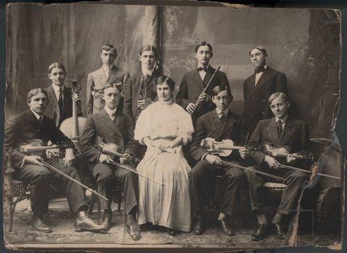 Orchestra, Topeka High School, Topeka, Kansas - Page
