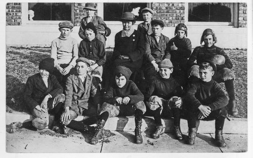 Central Park school football team, Topeka, Kansas - Page