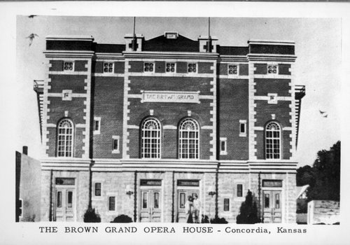 Brown Grand Opera House, Concordia, Kansas - Page