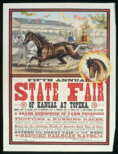 Fifth annual state fair of Kansas at Topeka - Page