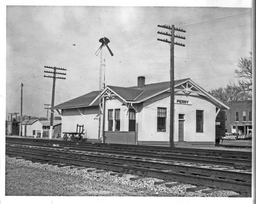 Union Pacific Railroad Company depot, Perry, Kansas - Page