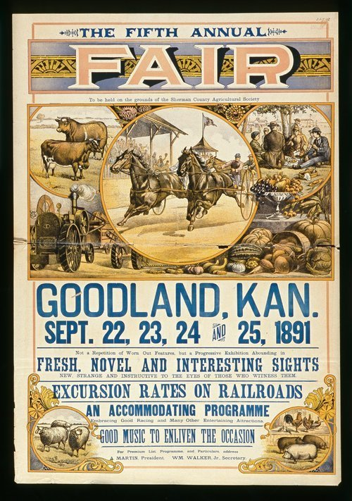 The fifth annual fair, Goodland, Kansas - Page