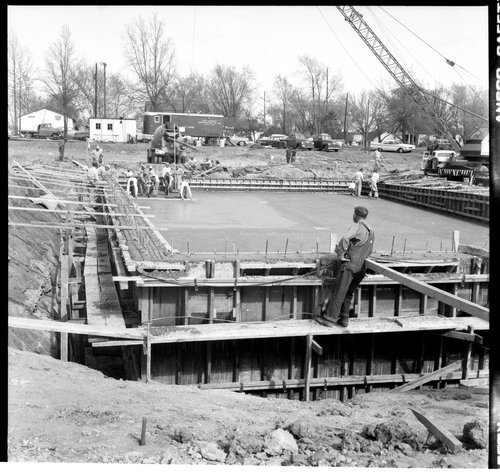 Swimming pool construction, Topeka, Kansas - Page