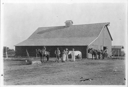 L. W. York barn, Comanche County, Kansas - Page