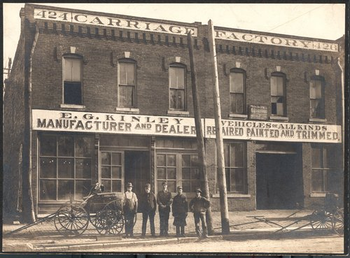 E.G. Kinley Carriage Factory, Topeka, Kansas - Page