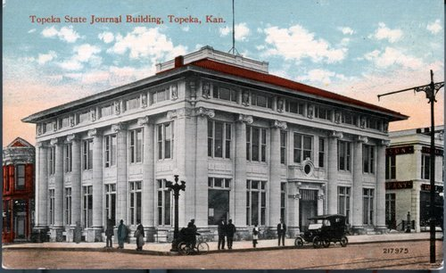 Topeka State Journal building, Topeka, Kansas - Page