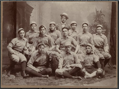 Washburn College baseball team, Topeka, Kansas - Page