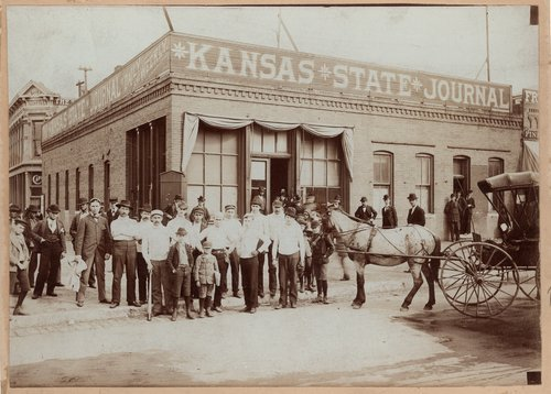 Kansas State Journal, Topeka, Kansas - Page