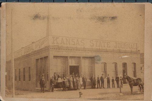 Kansas State Journal, Topeka, Kansas - Page