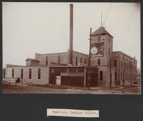 Western Woolen Mill, Topeka, Kansas - Page