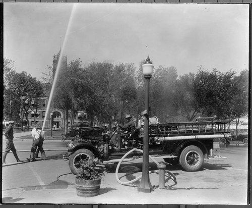 Fire engine, Iola, Kansas - Page
