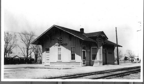 Atchison, Topeka & Santa Fe Railway Company depot, Englewood, Kansas - Page