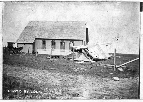 Church building in Seguin, Kansas - Page