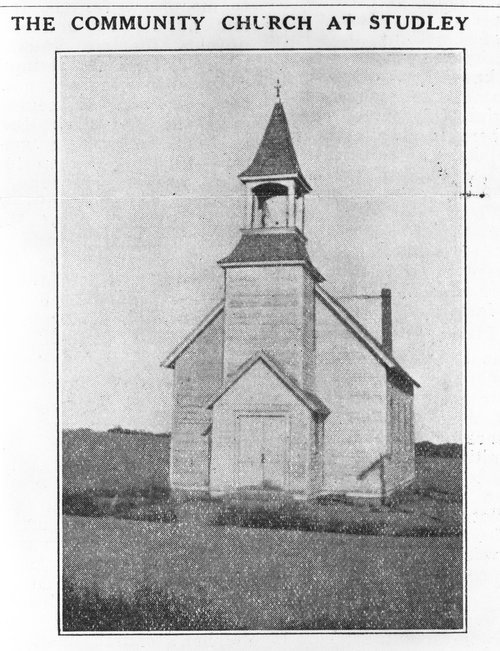 Studley Community Church, Sheridan County, Kansas - Page