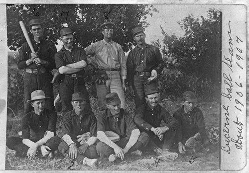 Baseball team, Lucerne, Kansas - Page