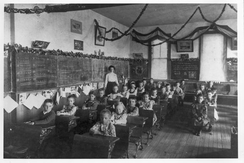 Students and schools, Hoxie, Kansas - Page