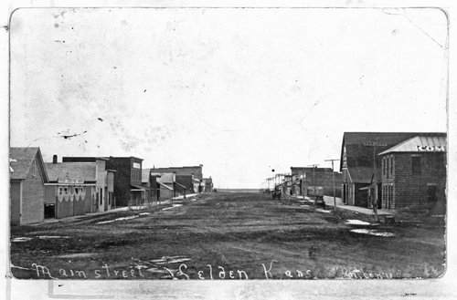 Main Street, Selden, Kansas - Page