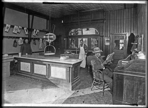 Butcher shop in Alma, Kansas - Page