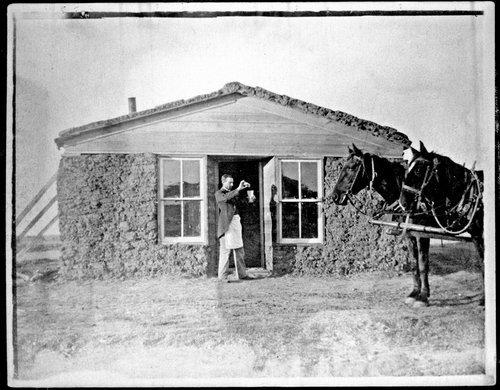 """Frank Brandram's """"joint', Studley, Kansas - Page"""