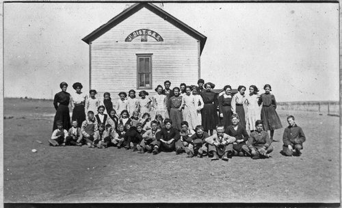 Two-room school, Graham/Sheridan County District #1, Studley, Kansas - Page
