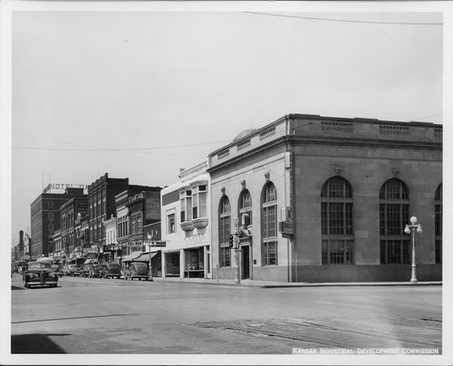 Business street, Coffeyville, Kansas - Page
