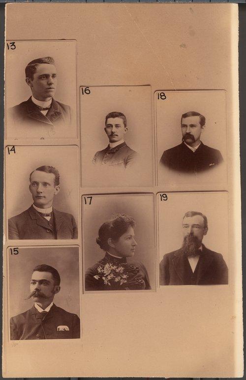 Topeka Capital staff portraits, Topeka, Kansas - Page