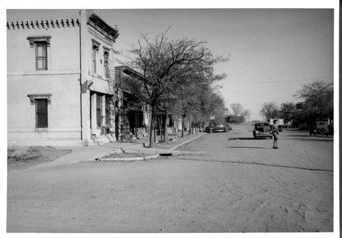 Street scene, Selden, Kansas - Page