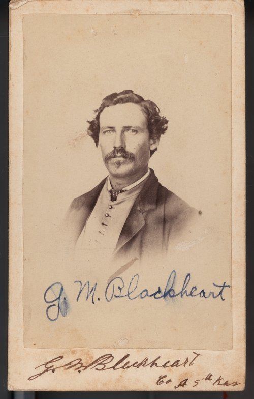 G. M. Blackheart, 5th Kansas Volunteer Cavalry - Page