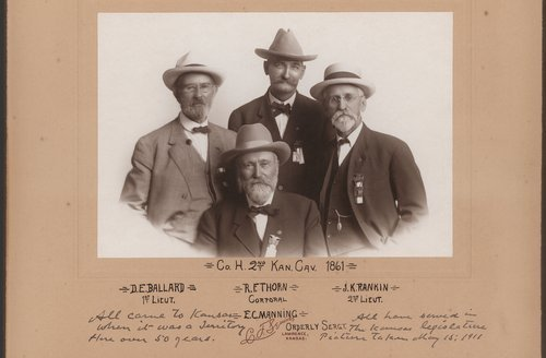 Second Kansas Cavalry Reunion - Page