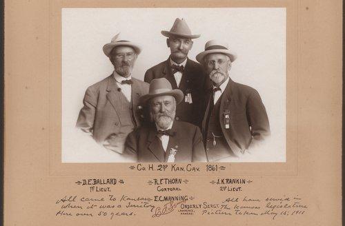 Second Kansas Cavalry Reunion - Page