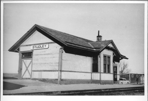Union Pacific Railroad Company depot, Studley, Kansas - Page