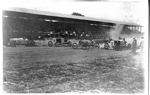 Auto races, Abilene, Kansas - Page