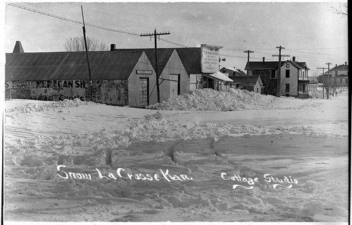 Snow storm, Lacrosse, Kansas - Page