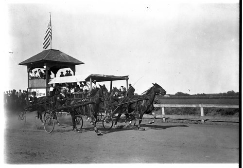 Sulky Race, Clay Center, Kansas - Page